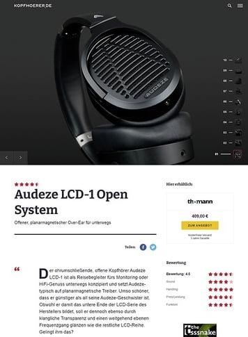 Kopfhoerer.de Audeze LCD-1 Open System