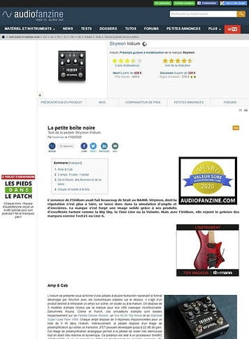 Audiofanzine.com Strymon Iridium