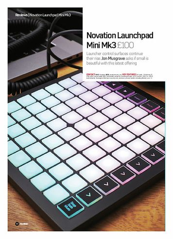 Future Music Novation Launchpad Mini MK3