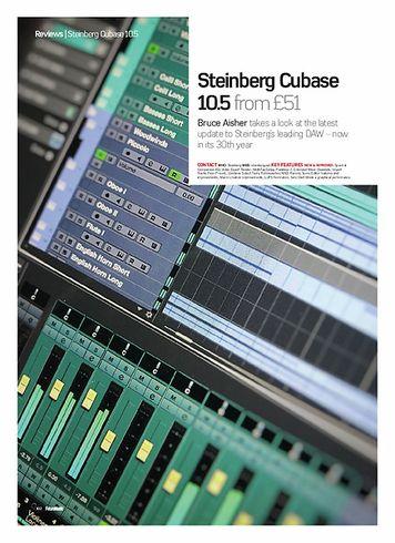 Future Music Steinberg Cubase 10.5