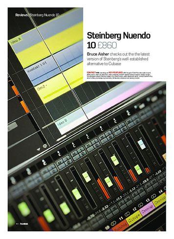 Future Music Steinberg Nuendo 10