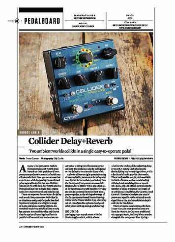 Guitarist Collider Delay+Reverb