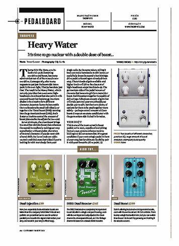 Guitarist Thorpy FX Heavy Water Boost