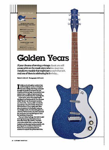 Guitarist Danelectro 64XT