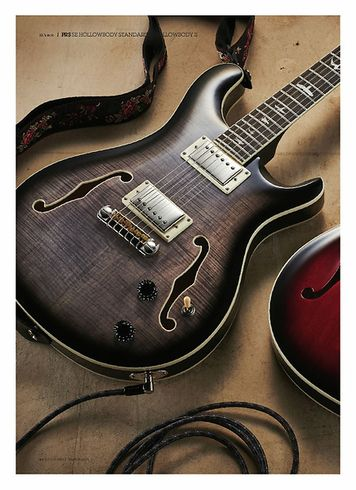 Guitarist PRS SE Hollowbody II