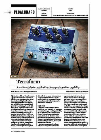 Guitarist Wampler Terraform Modulator