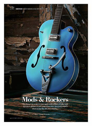 Guitarist Gretsch Brian Setzer G6120T-BSSMK 59
