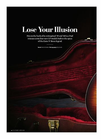 Guitarist Gibson Les Paul Slash Standard