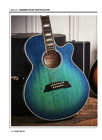 Guitarist Takamine TSP138C