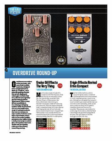 Total Guitar Snake Oil Marvellous Engine Distortion
