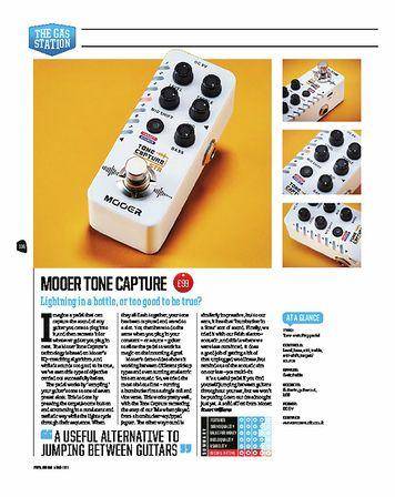 Total Guitar Mooer Tone Capture GTR