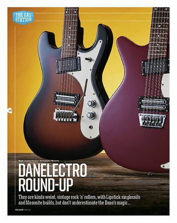 Total Guitar Danelectro 64XT