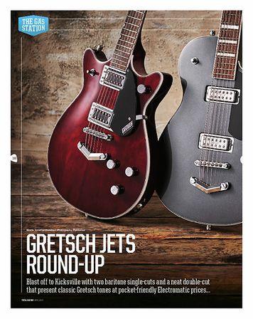 Total Guitar Gretsch G5260T EMTC Jet Bar. Bigsby