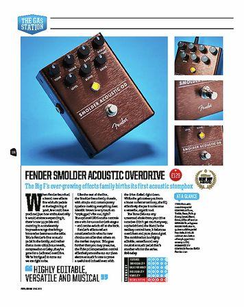 Total Guitar Fender Smolder Acoustic OD