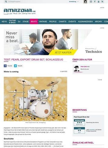 Amazona.de Pearl Export Drum Set