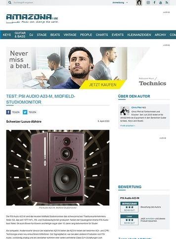 Amazona.de PSI Audio A23-M