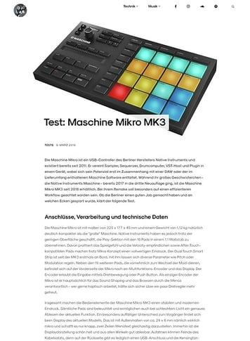 DJLAB Maschine Mikro MK3