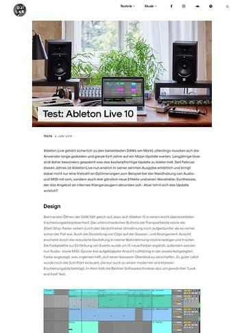DJLAB Ableton Live 10