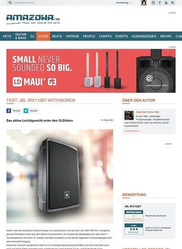 Amazona.de JBL IRX112BT Aktivboxen