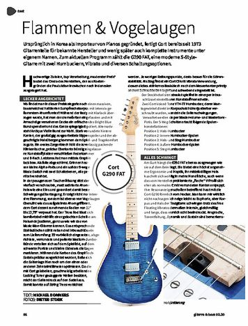 Gitarre & Bass Cort G290 FAT