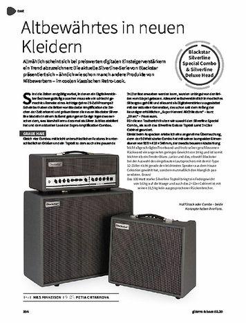 Gitarre & Bass Blackstar Silverline Special Combo & Silverline Deluxe Head & Silverline 2x12 Box