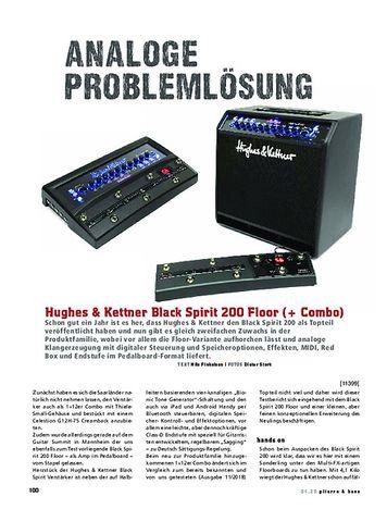 Gitarre & Bass Hughes & Kettner Black Spirit 200 Floor (+ Combo)
