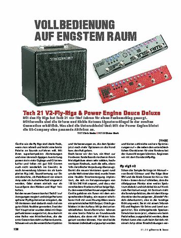 Gitarre & Bass Tech 21 Fly Rigs v2 & Power Engine Deuce Deluxe