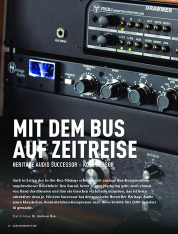 Sound & Recording Heritage Audio Successor