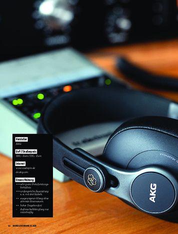 Sound & Recording AKG K 371
