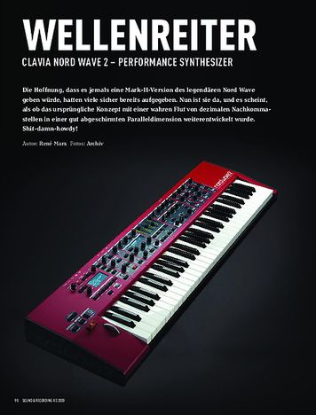 Sound & Recording Clavia Nord Wave 2