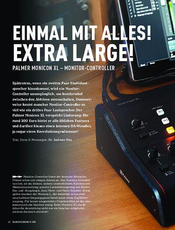Sound & Recording Palmer Monicon XL