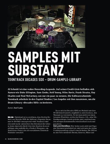 Sound & Recording Toontrack SDX Decades by Al Schmitt
