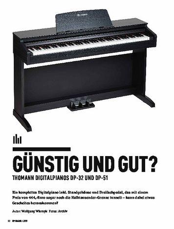 Keyboards Thomann DP-32 & DP-51