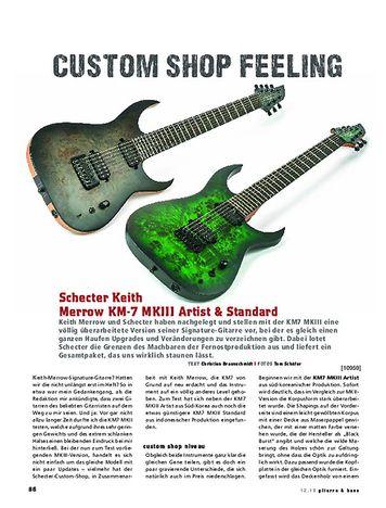 Gitarre & Bass Schecter Keith Merrow KM-7 MKIII Artist & Standard