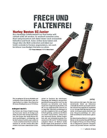 Gitarre & Bass Harley Benton SC-Junior