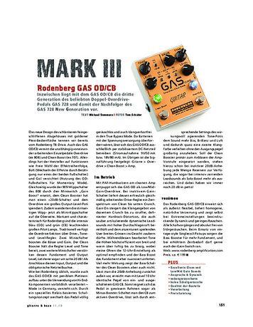 Gitarre & Bass Rodenberg GAS (OD/CB)