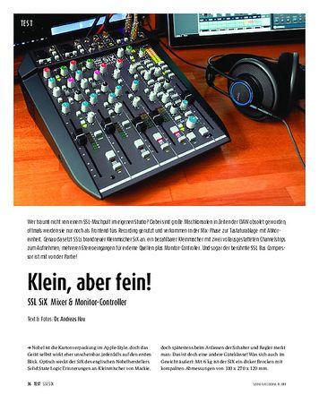 Sound & Recording SSL SiX