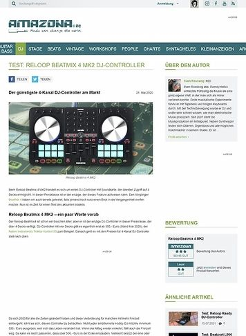 Amazona.de Reloop Beatmix 4 MK2