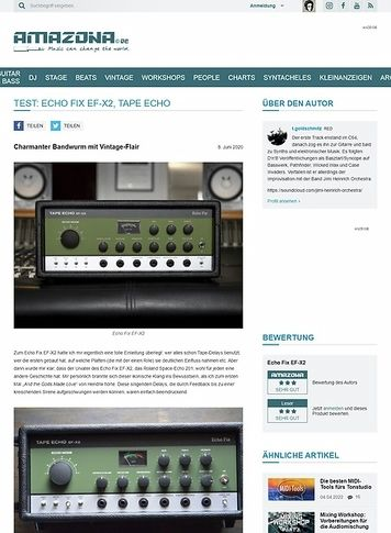 Amazona.de Echo Fix EF-X2