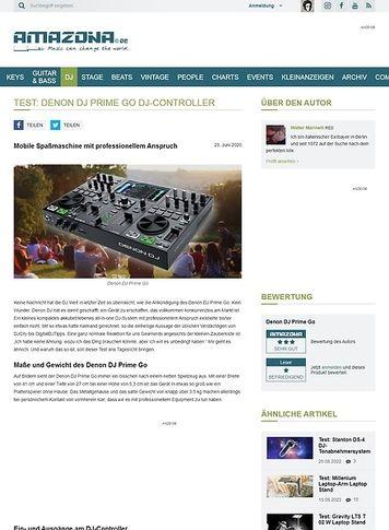 Amazona.de Denon DJ Prime Go