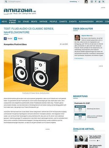 Amazona.de Fluid Audio C5 Classic Series