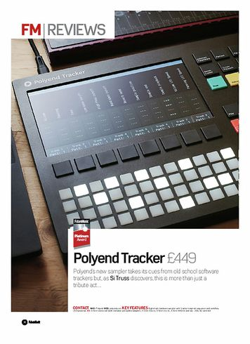 Future Music Polyend Tracker