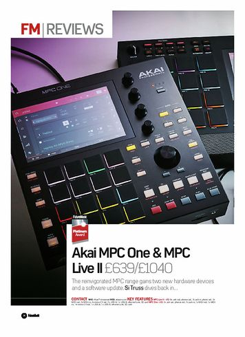 Future Music Akai MPC One