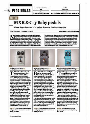 Guitarist Cry Baby QZ1 Q Zone