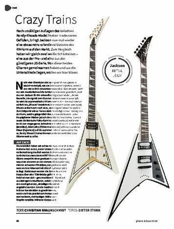 Gitarre & Bass Jackson RRT3 & JS32T