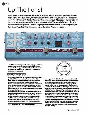 Gitarre & Bass Tech21 Steve Harris SH1