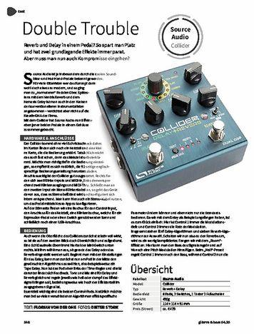 Gitarre & Bass Source Audio Collider