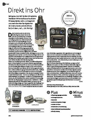 Gitarre & Bass XVive U4 Wireless In-Ear-Monitor