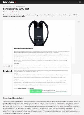 Bonedo.de Sennheiser RS 5000