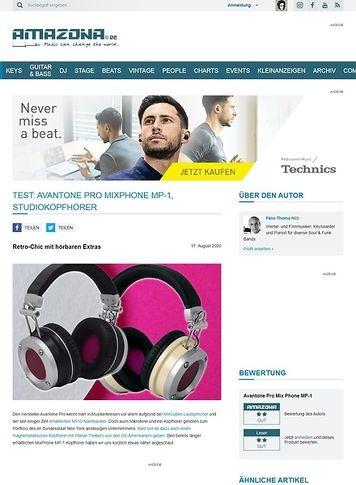 Amazona.de Avantone Pro MixPhone MP-1